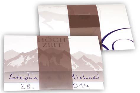 Hochzeitseinladung Berge by H 246 Chste Design Hochzeitskarten Design Stilvoll Heiraten