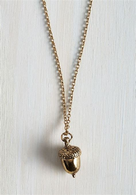 vintage inspired charm reigns supreme at the modcloth hq california home design the 25 best acorn necklace ideas on necklace jewelry and diy resin