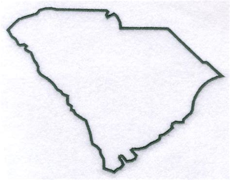 Carolina Outline by Pin South Carolina Outline Blank Map Ready For Coloring On