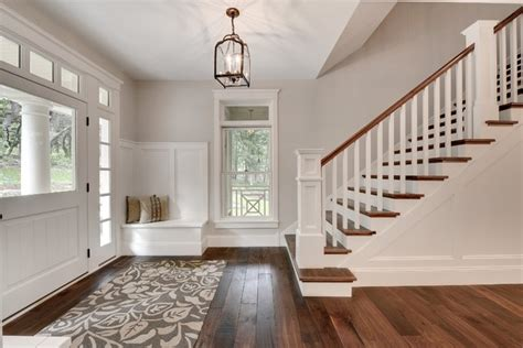 foyer entry transitional entry minneapolis by custom homes