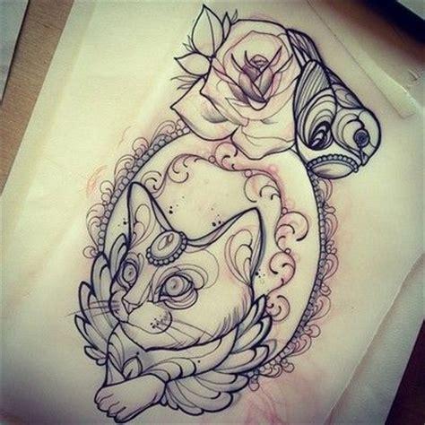 tattoo cat drawing 357 best tattoo images on pinterest tattoo ideas tattoo