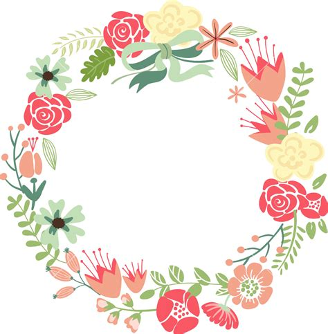 free s day photo card templates crown png floral frame png images transparent free