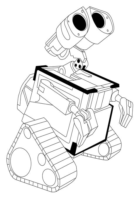 Wall E Coloring Pages free coloring pages of wall e and