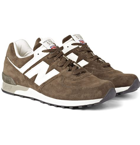 new balance sneakers new balance 576 suede running sneakers sneaker cabinet