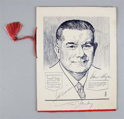 tom yawkey patriarch of the boston sox books 1957 sox great award dinner program signed by 32