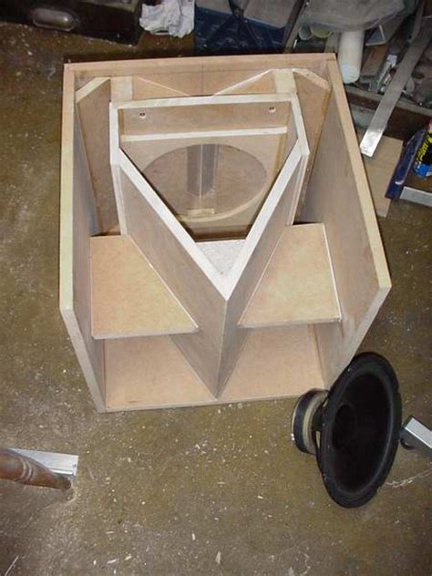 a horn enclosure for my 15 inch woofers page 2 avs