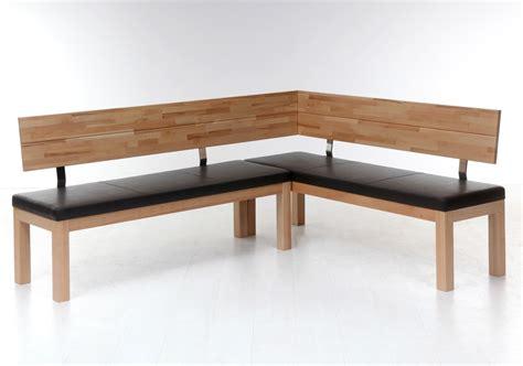 sitzecke esszimmer eckbank luca small 190x150cm holzbank varianten massivholz