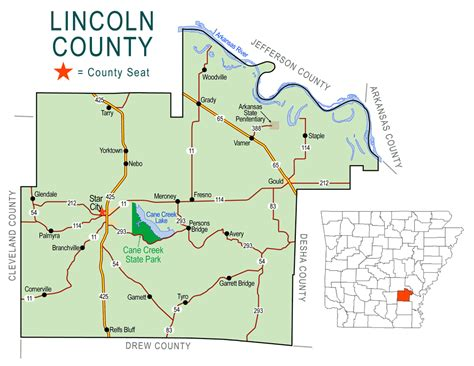 what county is lincoln in lincoln county map encyclopedia of arkansas