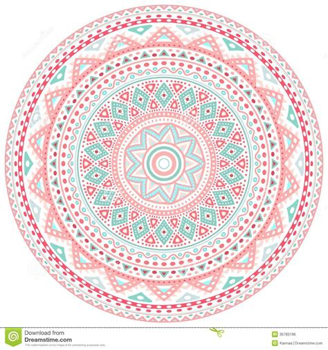 pattern round background circle pink background design www imgkid com the image
