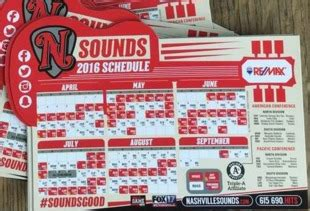 2016 promotions nashville sounds promotions nashville sounds 2016 promotional stadium giveaways
