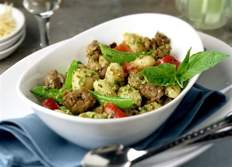 Todays Special Pasta With Sausage Basil And Mustard by Pesto Gnocchi With Italian Sausage Johnsonville