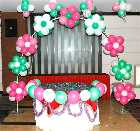 Birthday Decoration Ideas At Home With Balloons Home Design Interesting Balloon Decoration Ideas Archives Home Caprice Birthday Decoration