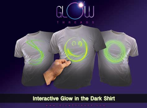 Kitchen Tea Food Ideas Glow Threads Interactive Glow In The Dark T Shirt