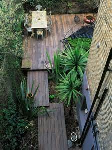 landscaping ideas for an l shaped garden hgtv