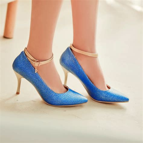 big size high heels 2015 fashion high heels pumps shoes chaussure