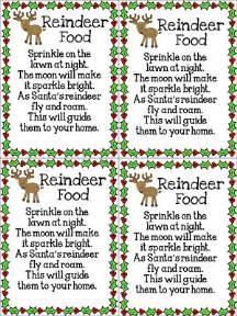 free reindeer food poem printable new calendar template site