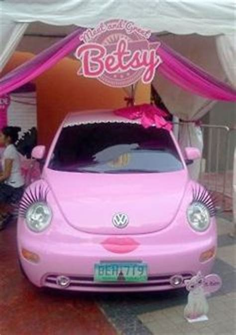pink volkswagen beetle with eyelashes bugs and more on pinterest volkswagen new beetle vw