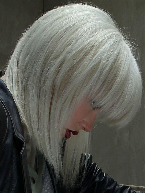 graue mittellange haare damen friseurcom