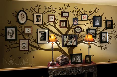 tree wall decals for living room wall decal family tree wall decal living room wall by nouwall