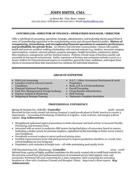 click here to this financial controller resume