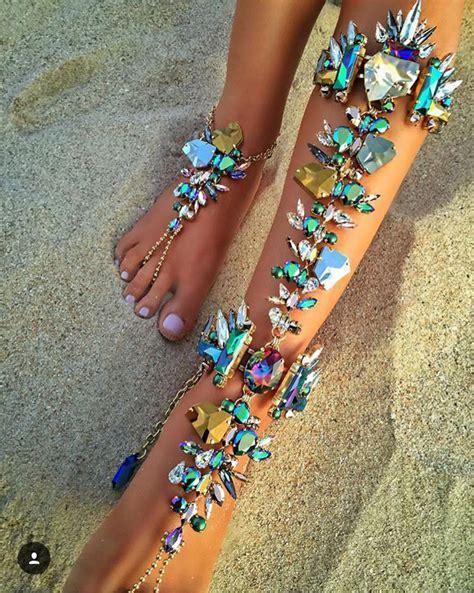 new fashion 2016 ankle bracelet wedding barefoot
