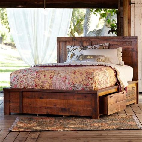 15 diy wooden pallet beds with storage ideas recycled