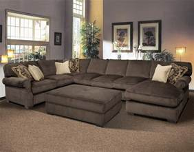 Comfy Sectional Sofa Big And Comfy Grand Island Large 7 Seat Sectional Sofa With Right Side Chaise By Fairmont