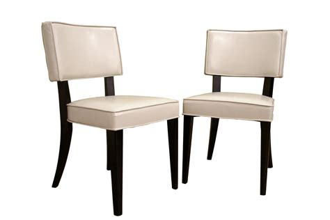 Dining Chair Sets Bonded Leather Dining Chairs Chair Pads Cushions