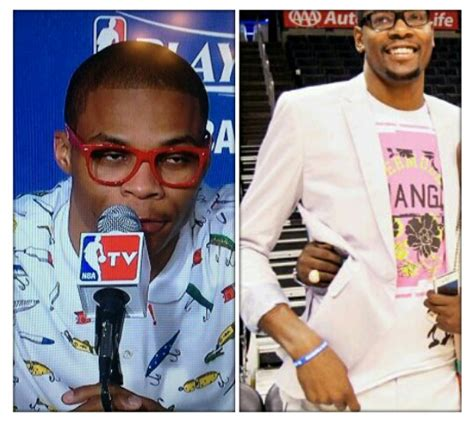 Kevin Durant Wardrobe by Thunder Westbrook Kevin Durant Wear Funky Post Jbsmooth84