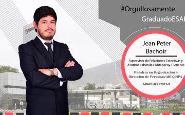 Mba Esan Arequipa by Orgullosamente Graduado Esan Archives Career Center Esan
