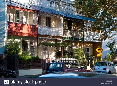 houses to buy in sydney australia terraced victorian houses bourke street surry hills sydney stock photo royalty