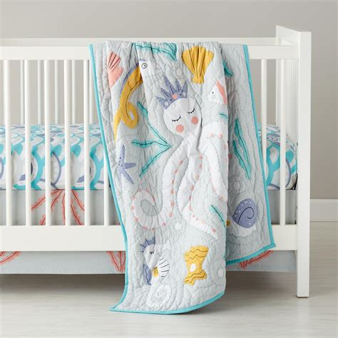 land of nod bedding the land of nod marine queen crib bedding sweet summer