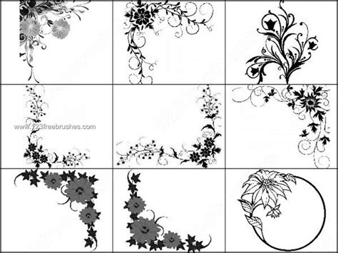 cornici gimp 9 free photoshop shapes frames images free photoshop