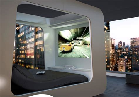 bed with built in tv 15 fantastic new futuristic tech gadget designs ideas urbanist