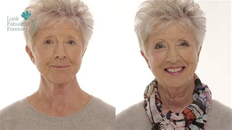 makeover age 60 makeup for older women define your eyes and lips over 60