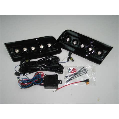 pod light kit black daytime running lights drl led