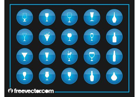 cocktail icon vector drinks icons download free vector art stock graphics