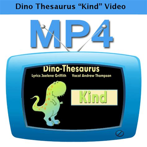 dino thesaurus kind learning workshop