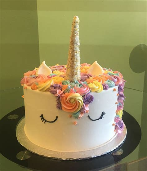 Unicorn Layer Cake ? Classy Girl Cupcakes