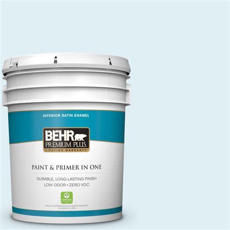 behr premium plus 5 gal m480 1 helium satin enamel interior paint 705005 the home depot