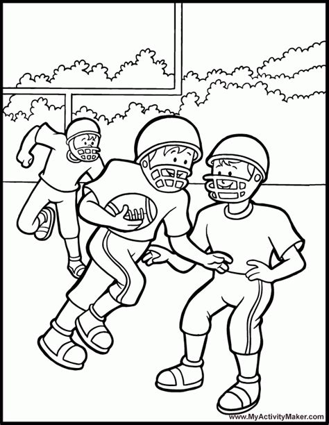 Coloring Pages Sports My Activity Maker Az Coloring Pages Coloring Page Maker
