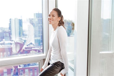 hilary swank exercise routine the hilary swank beauty routine into the gloss