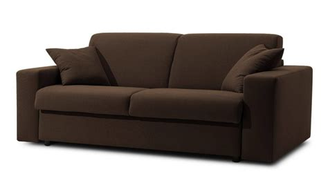 canapé tissu noir canap 233 lit 3 places 140 cm en tissu coton prix usine italie