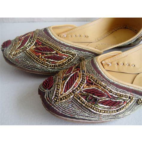 Handmade Designer Shoes - us size 7 sequin bridal ballet flats wedding shoes satin