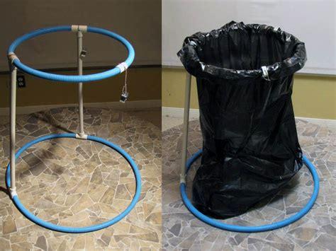 Leaf Bag Holder Stand by Collapsible Trash Bag Frame Make