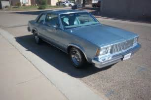1978 chevrolet malibu classic 4 speed for sale photos