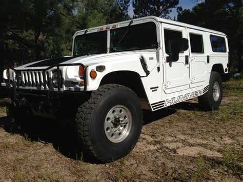 how can i learn about cars 1998 hummer h1 engine control purchase used 1998 hummer open top in