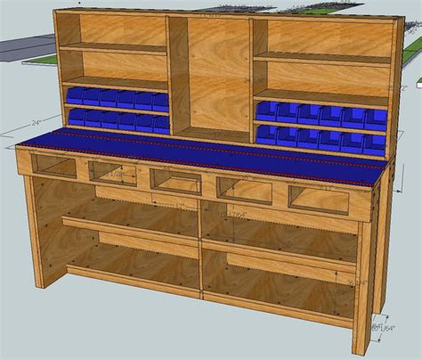 working projcet detail reloading workbench plans