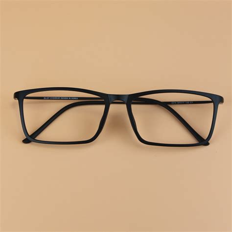 aliexpress glasses fashion men oversized square ultem tungsten glasses frame