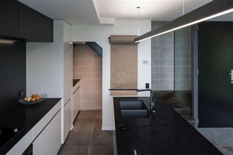 laminate splashbacks for bathrooms the kitchen features caesarstone jet black benchtops and